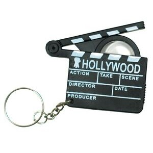 Hollywood Key Ring w/ Magnifier