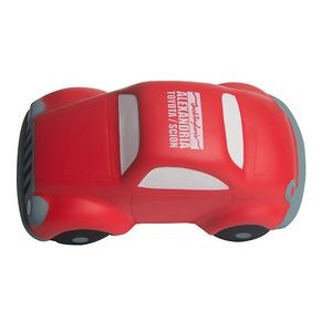 Red Speedy Car w/ Vibration Squeezies® Stress Reliever