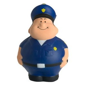 Policeman Bert™ Squeezies® Stress Reliever Key Ring