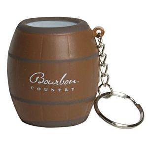Barrel Keyring Squeezies® Stress Reliever