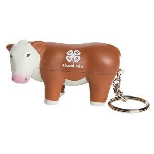 Steer Keyring Squeezies® Stress Reliever