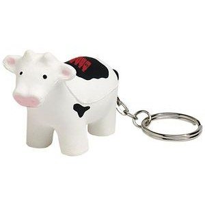 Cow Keyring Squeezies® Stress Reliever
