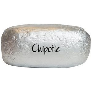 Burrito/ Baked Potato in Foil Squeezies® Stress Reliever
