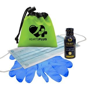Drawstring Sanitizer Kit