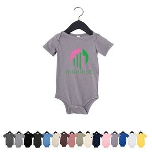Bella+Canvas® Infant Jersey Short-Sleeve One-Piece