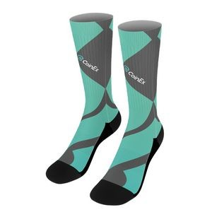 Imported Dye-Sublimated Socks
