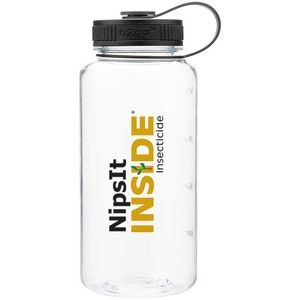 34oz H2go Wide Bottle (Clear)