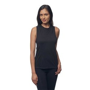Viscose Bamboo & Organic Cotton Muscle Tank Top