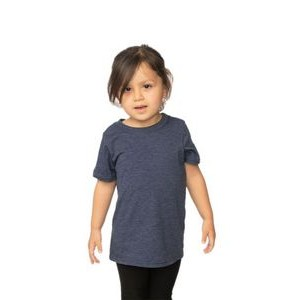 Toddler Organic RPET Short Sleeve Tee Shirt (Small-Large)