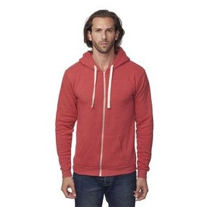 Unisex ECO Triblend Fleece Full-Zip Hoody Jacket