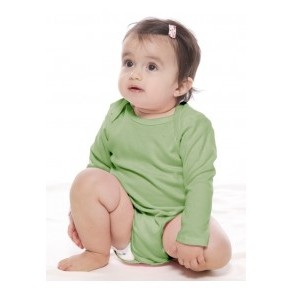 Infant Organic Long-Sleeve One-Piece Romper